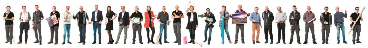 impressed team drukkerij drukwerk sign belettering reclame print hdprint