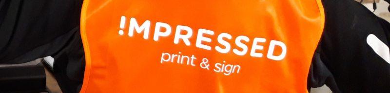 textiel bedrukken reflecterend kleding sign signing