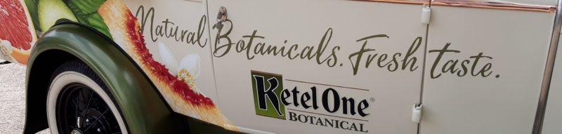 nolet ketel1 ketel one botanical belettering autobelettering sign signing